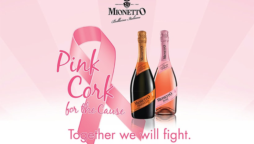 A Nudge for Breast Health Awareness: 'Pink Cork for the Cause'