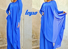 Seize The Day with This Blue Jumpsuit from TEYXO!