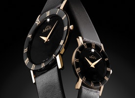 Fashionable MaVie Infinity Leather Timepiece For Women