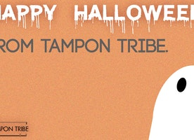 Happy Halloween from Tampon Tribe!