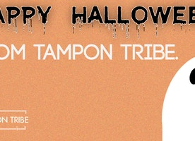 Happy Halloween from Tampon Tribe