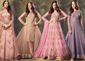 Indo Western Designer Women's Party Wear Clothes: Indian Ladies Dresses & Salwar Suits Online India
