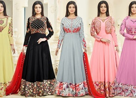 latest Celebrity Gown Dresses Suits Online For Girls Online By DesignersAndYou