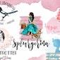 I Will Do High Profile Feminine Watercolor Logo Design