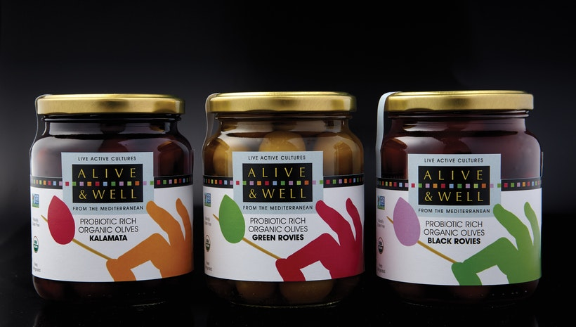Organic Olives from Greece with Naturally-Occurring Live, Active Cultures