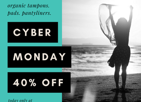Celebrate Cyber Monday with Tampon Tribe