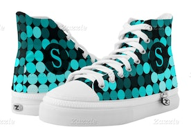 Super Cool Shoes with Monogram