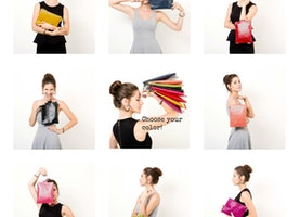 Weekend is here and the team at Mayko are feeling... COLORFUL /// A matching clutch for EVERY outfit!