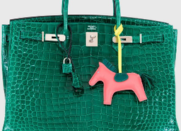 Hermes Birkin Bag 40cm Vert Emerald Porosus Crocodile