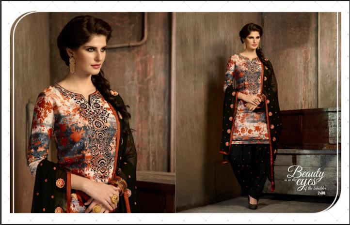 Salwar Kameez - Get wholesale  designer stylish salwar kameez at best price.