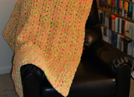 Puff Blanket Pattern