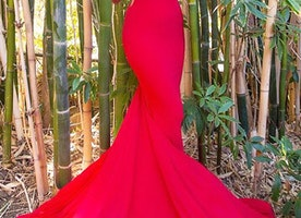 Amazing Blood Red Wedding Dresses