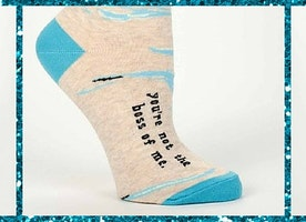 You're Not The Boss Of Me Socks