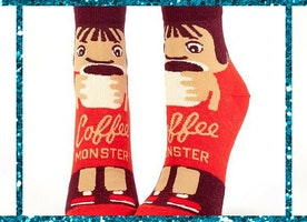 Coffee Monster Socks
