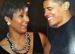Rare photo of Obama he was senator