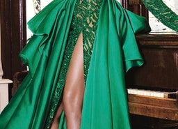15 Green Wedding Dresses For Non-Traditional Bride