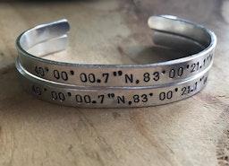 Custom coordinates cuffs