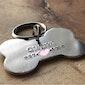 Custom XL bone ID dog tag