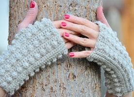Winter handmade accessories- something warming and feminine too.