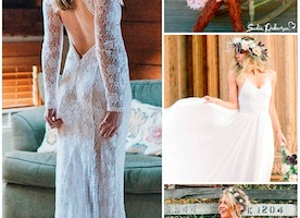 Rustic Wedding Dresses To Be A Charming Bride
