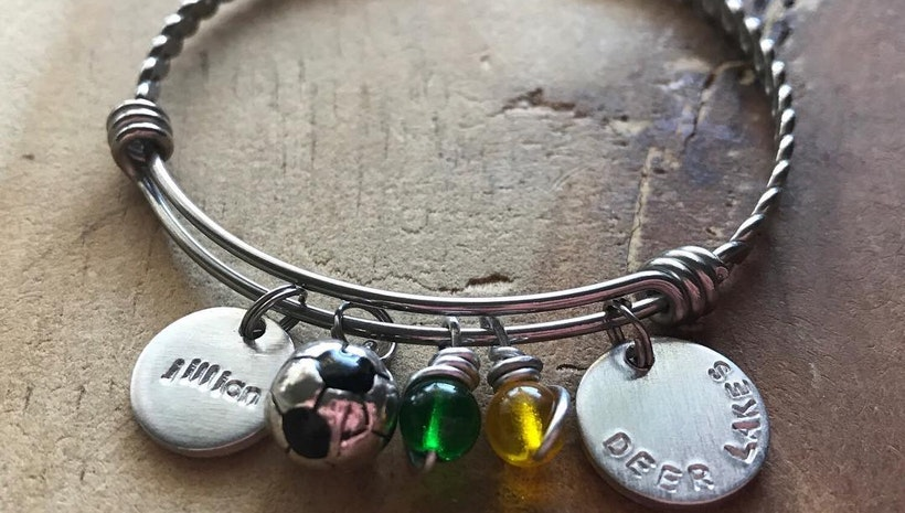 Custom designed bangle