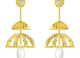 Jhumka Earrings Online Shopping
