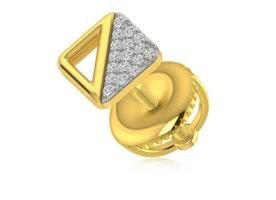 Gold Studs Earrings