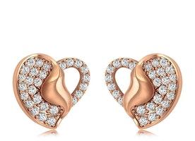 Diamond Top Earrings