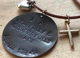 Fearfully and Wonderfully Made necklace