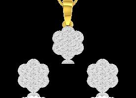 Diamond Pendant Set Online