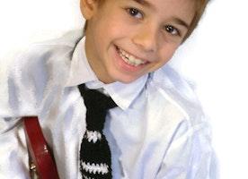 Crochet tie for the cute boys