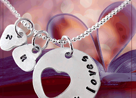 My Loves Hand Stamped Necklace only $24.99
