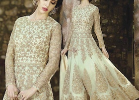 Unparalleled Light Green Net Designer Anarkali For Every Type Body