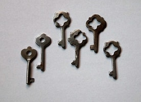 vintage little keys