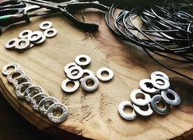 Custom washer jewelry