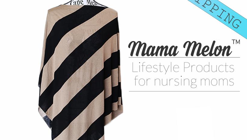 Mama Poncho Car Seat Cover