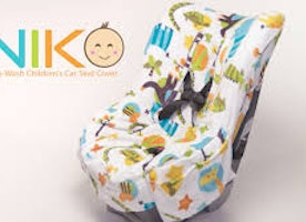 Niko Easy-Wash Children's Car Seat Cover