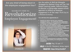 Free cutting-edge Employee Engagement Workshop (May15 - Washington DC; May 17 PA/NJ)