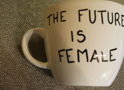 The Future is Female Feminist Custom Mug