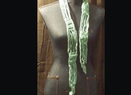 Chains and Ribs Scarf