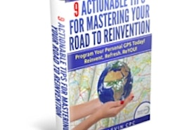 Free e-Book: 9 Actionable Tips for Reinventing Your Life