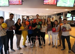 Sensata Interns hit the bowling alley with their managers after a hard week's work. #SensataInterns2018 #FutureOfSensata