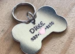 Bone Dog ID tag