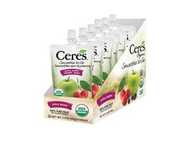 """Get Your Quick """"Five-a-Day"""" Boost with Smoothie to Go, New From Ceres Juices"""