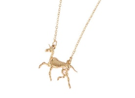 Unicorns Are Real Fossil Necklace