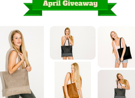 Want to WIN a gorgeous Vegan Laser Tote Bag?