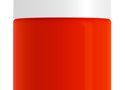 Orange Red Nail Polish by SeaMilk