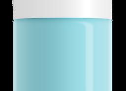 Baby Blue Nail Polish, non-toxic, water based by SeaMilk