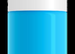 Bright Aqua Nail Polish, non-toxic, water based by SeaMilk