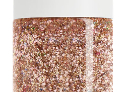 Gold Glitter Nail Polish, non-toxic, water based by SeaMilk